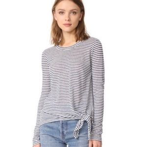 Madewell Long Sleeved Striped Shirt Size L